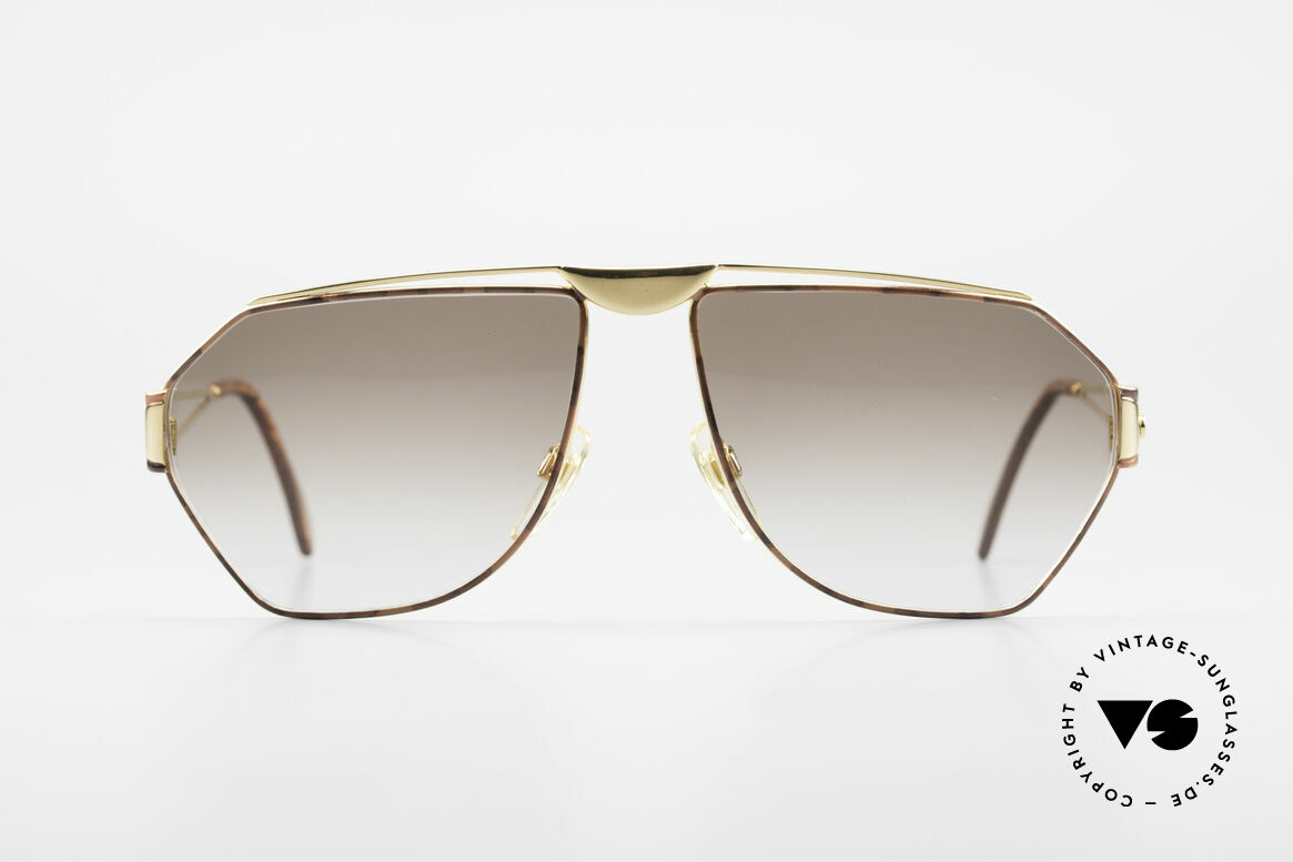 St. Moritz 403 Rare 80's Jupiter Sunglasses, designer shades with Jupiter symbol on the left temple, Made for Men