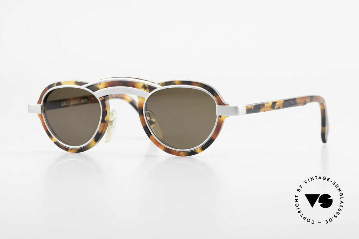 Alain Mikli 5107 / 0504 Rare 80's Designer Shades, vintage 80's sunglasses from Paris, the fashion city, Made for Men and Women
