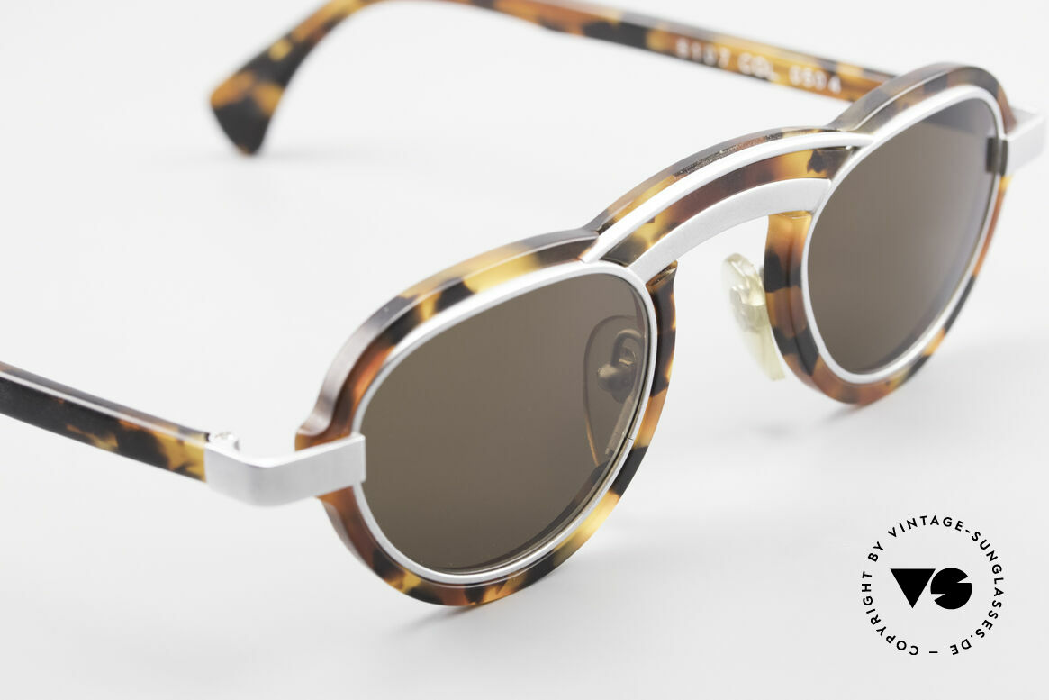 Alain Mikli 5107 / 0504 Rare 80's Designer Shades, unworn, small rarity from 1989 (NO RETRO shades), Made for Men and Women