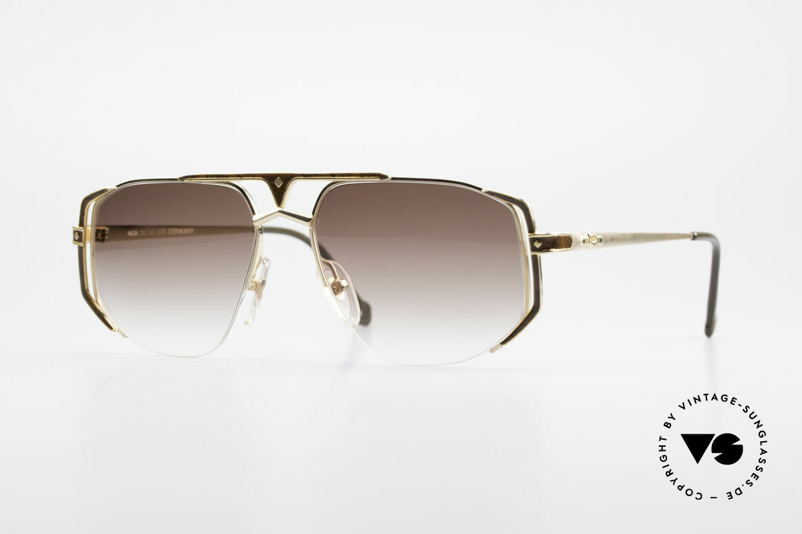 MCM München 5 Titanium Sunglasses Large, LARGE designer shades by MCM from the early 1990's, Made for Men