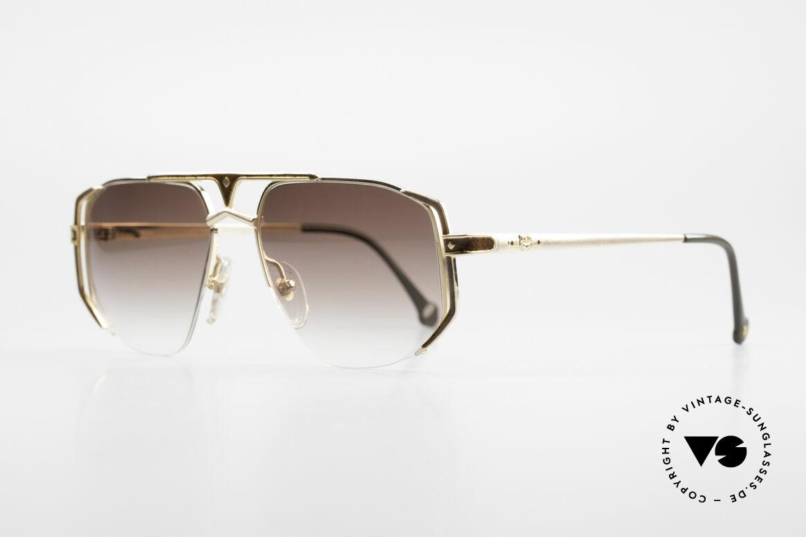 MCM München 5 Titanium Sunglasses Large, luxury sunglasses by Michael Cromer (MC), Munich (M), Made for Men