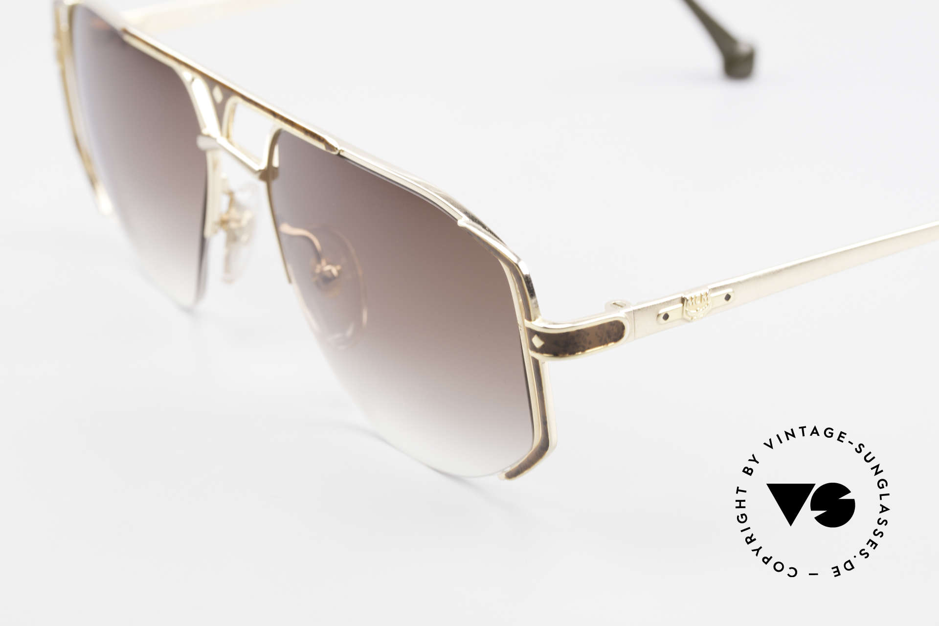 MCM München 5 Titanium Sunglasses Large, unworn, NOS (like all our old vintage MCM ORIGINALS), Made for Men