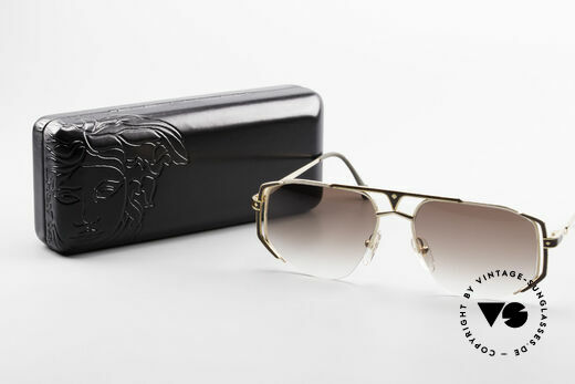 MCM München 5 Titanium Sunglasses Large