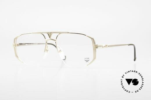 MCM München 5 Titanium Eyeglasses Large Details