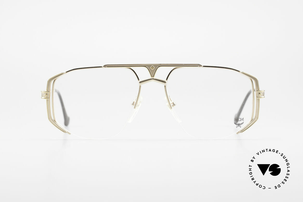 MCM München 5 Titanium Eyeglasses Large, precious frame with serial number and case by MCM, Made for Men