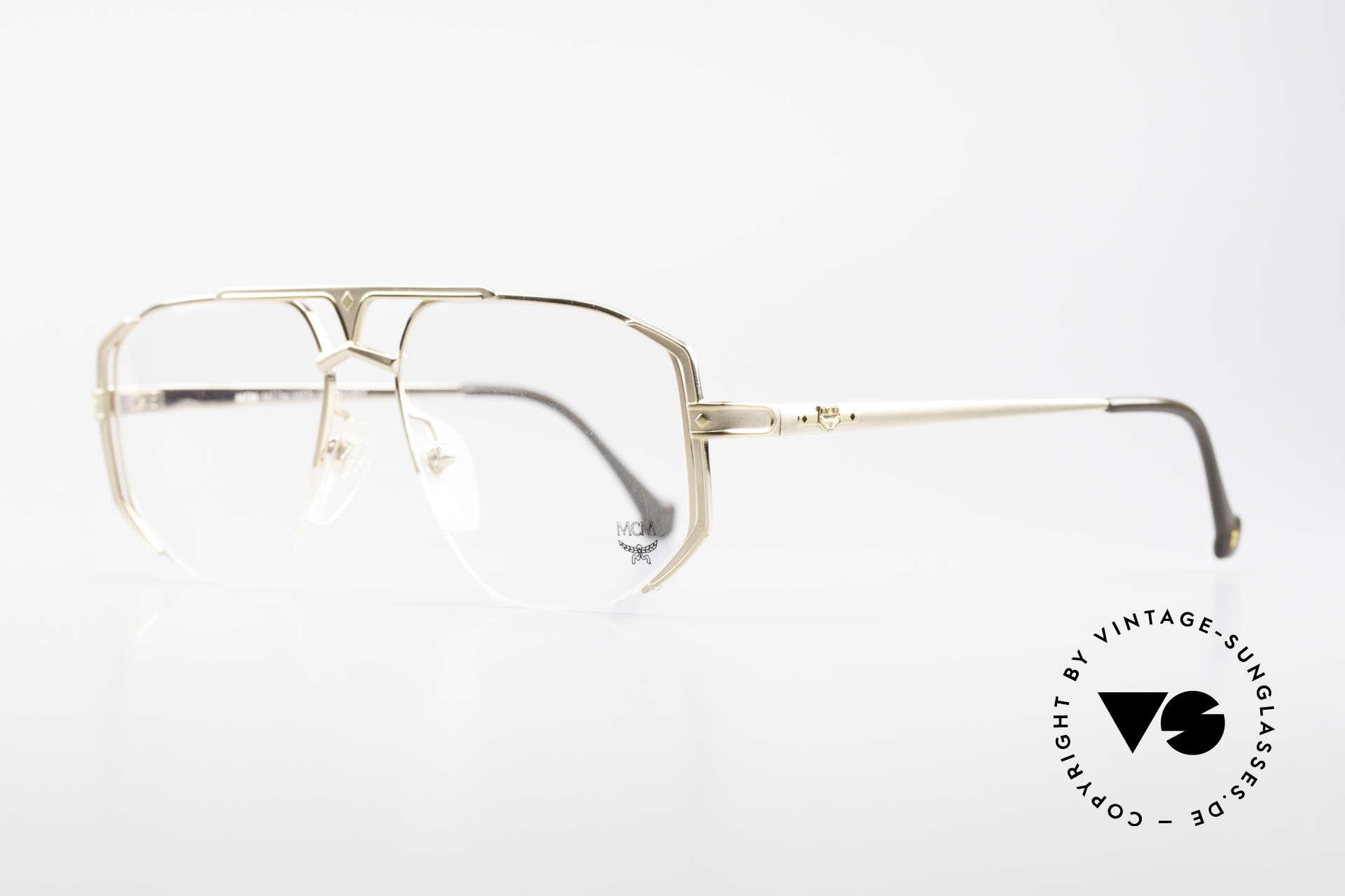 MCM München 5 Titanium Eyeglasses Large, luxury eyeglasses by Michael Cromer (MC), Munich (M), Made for Men