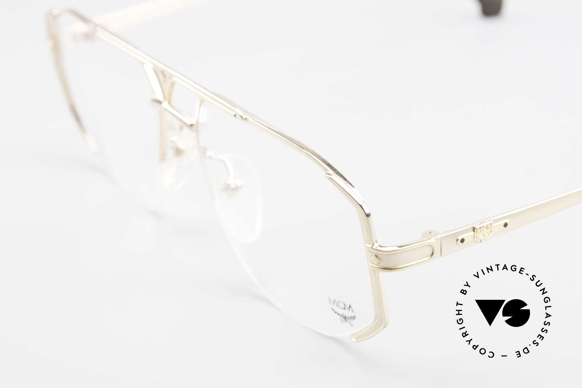 MCM München 5 Titanium Eyeglasses Large, unworn, NOS (like all our old vintage MCM ORIGINALS), Made for Men