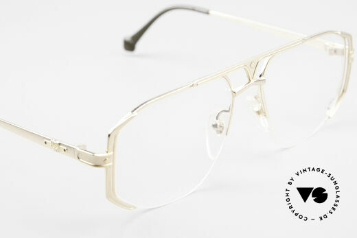 MCM München 5 Titanium Eyeglasses Large, NO RETRO FASHION, but an app. 25 years old RARITY!, Made for Men
