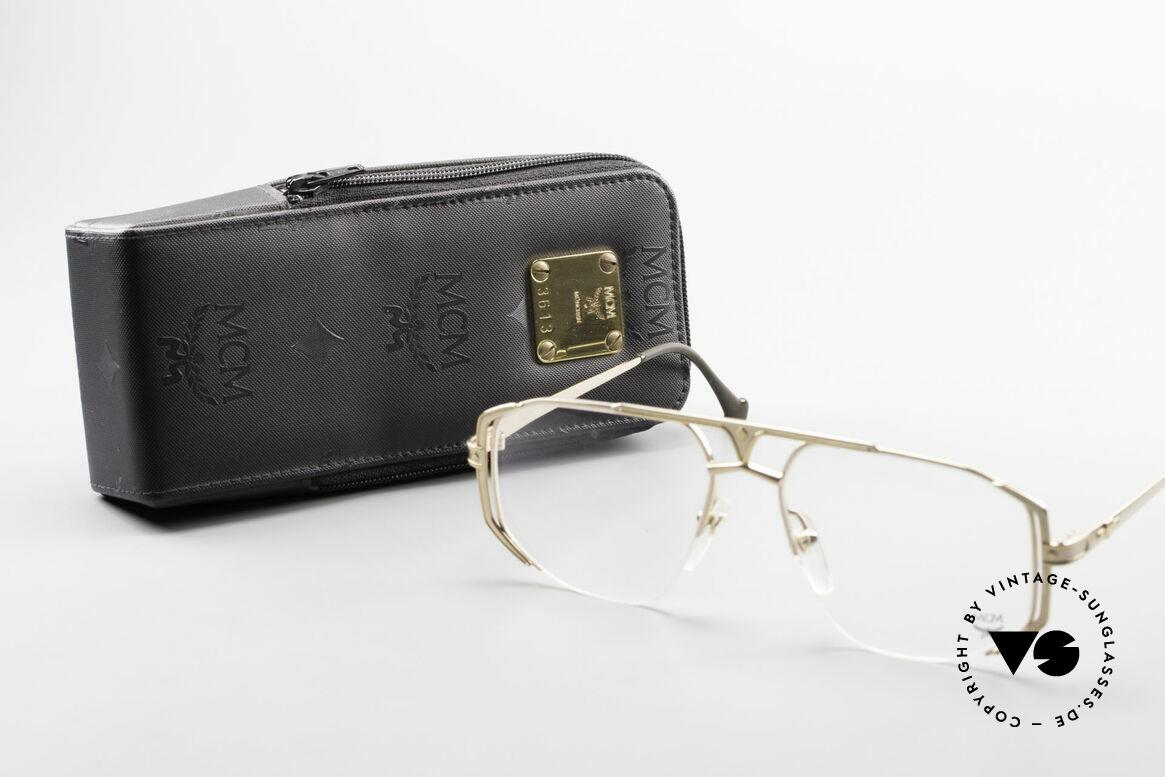 MCM München 5 Titanium Eyeglasses Large, Size: extra large, Made for Men