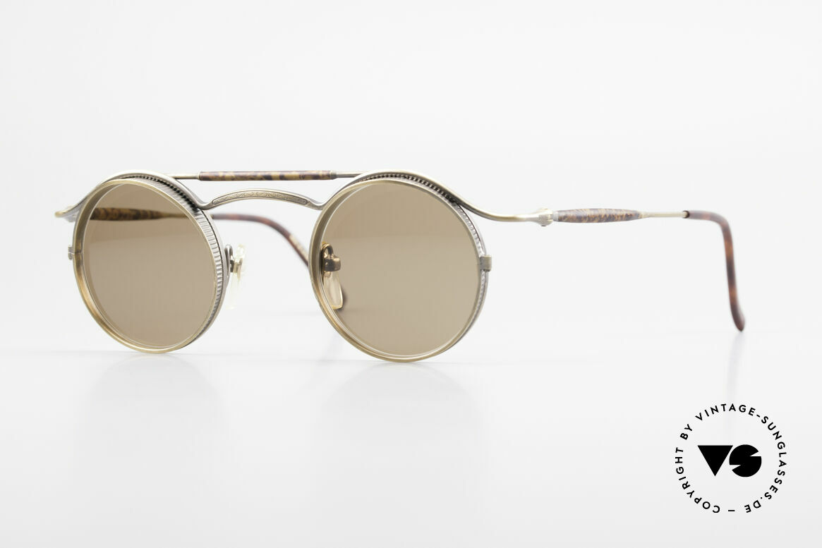 Matsuda 2903 90's Steampunk Sunglasses, vintage Matsuda designer sunglasses from the mid 90's, Made for Men and Women