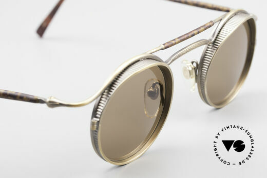 Matsuda 2903 90's Steampunk Sunglasses, true vintage designer piece and NO RETRO reproduction, Made for Men and Women