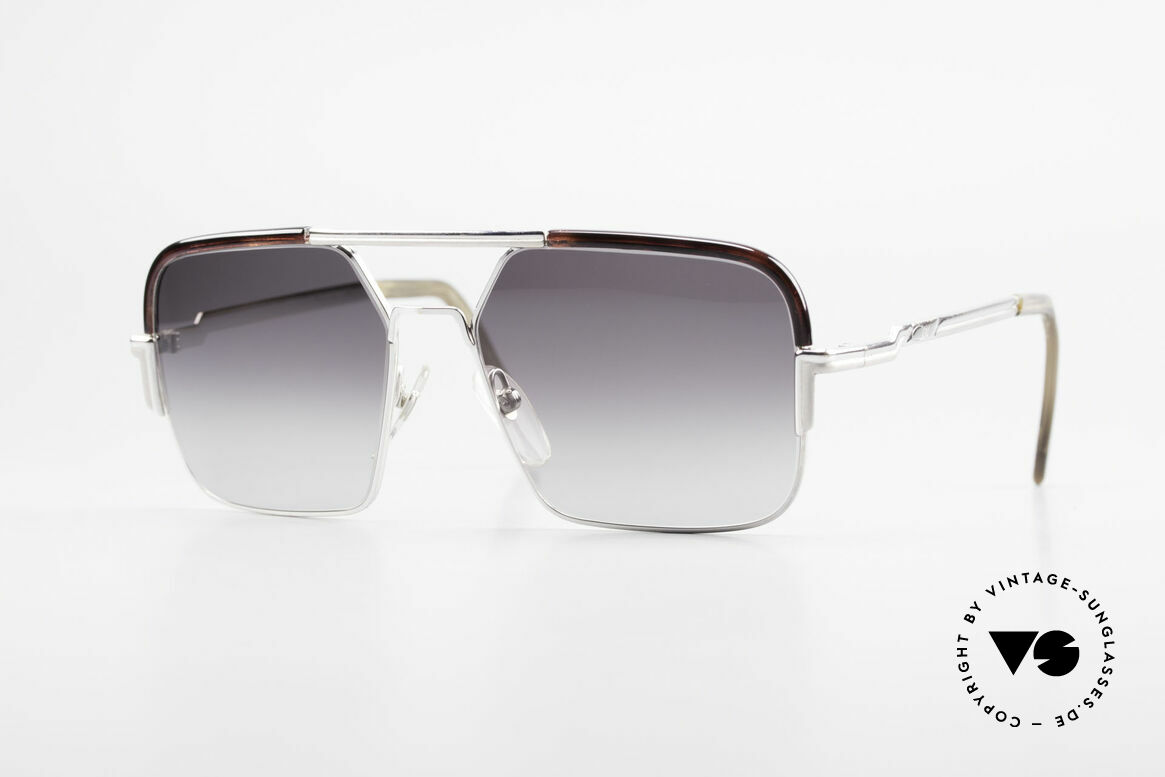 Cazal 706 70's Combi Shades First Series, ultra rare vintage Cazal sunglasses from the late 1970's, Made for Men