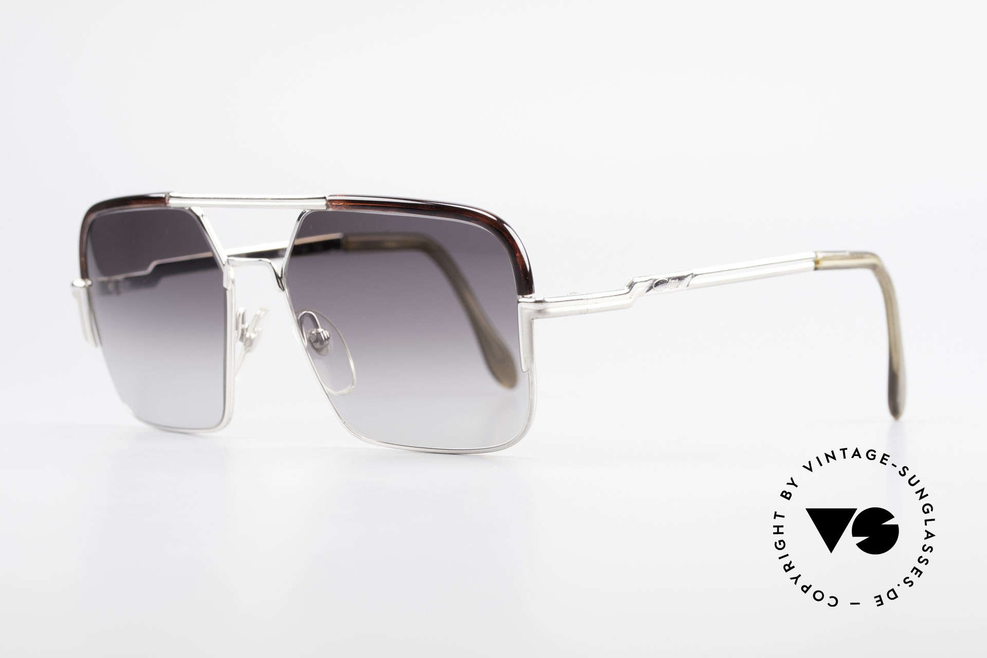 Cazal 706 70's Combi Shades First Series, with the age-old 'Frame Germany' engraving; size 56/16, Made for Men