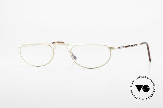 Giorgio Armani 133 Rare Old 80's Reading Glasses Details
