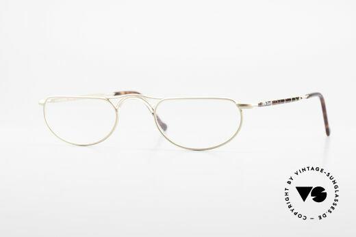 Giorgio Armani 133 Rare Old 80's Reading Glasses Details