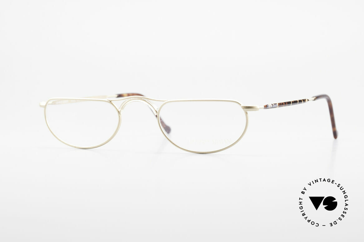Giorgio Armani 133 Rare Old 80's Reading Glasses, vintage 1980's Giorgio Armani reading glasses, Made for Men and Women