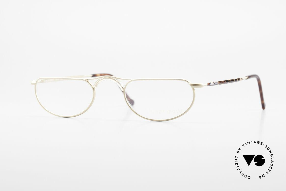 Giorgio Armani 133 Rare Old 80's Reading Glasses