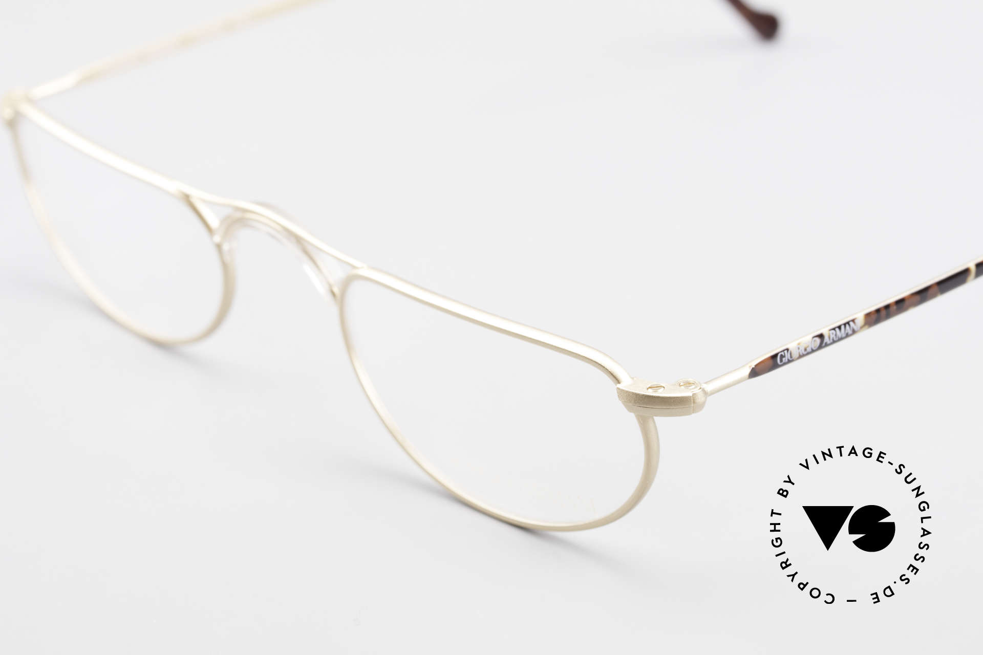Giorgio Armani 133 Rare Old 80's Reading Glasses, NO RETRO specs, but a genuine old 80's frame!, Made for Men and Women