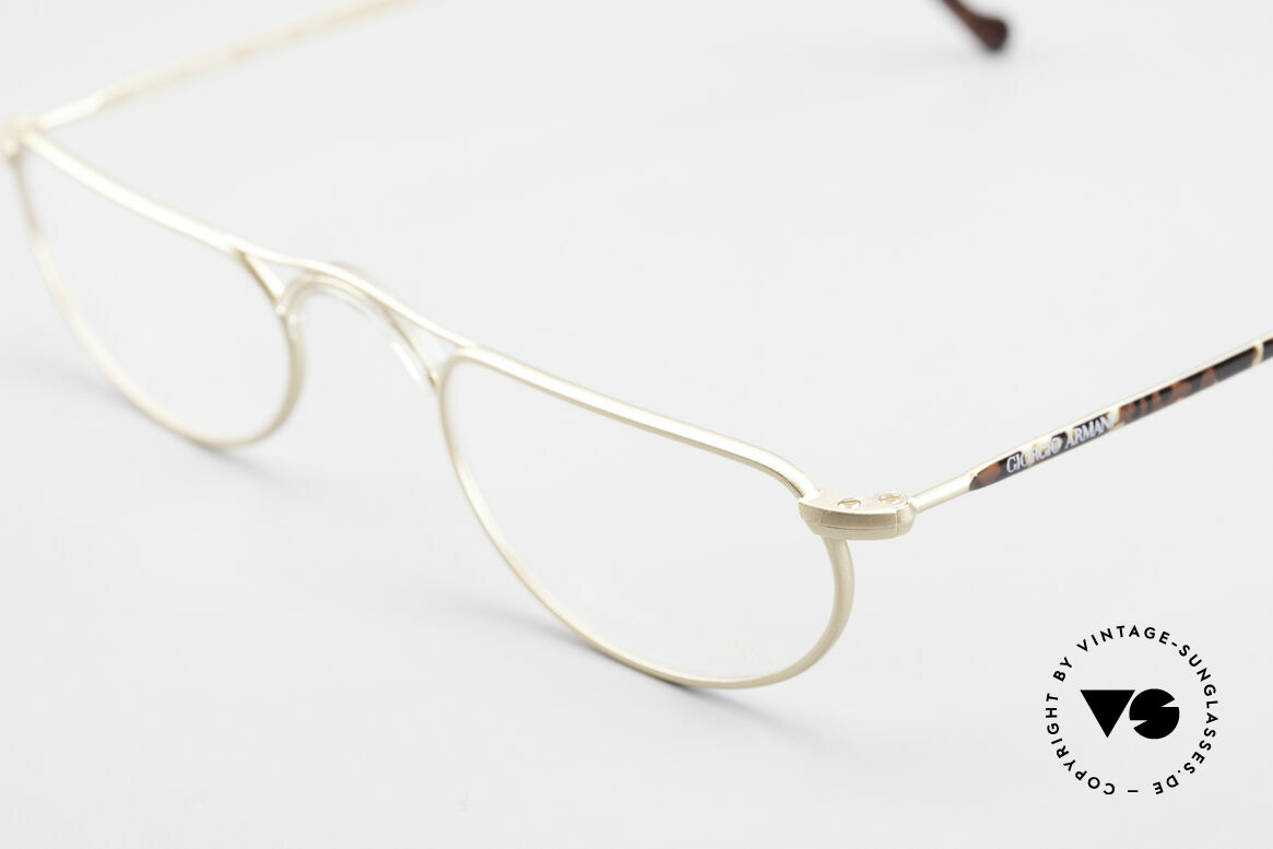 Giorgio Armani 133 Rare Old 80's Reading Glasses, NO RETRO specs, but a genuine old 80's frame!, Made for Men and Women