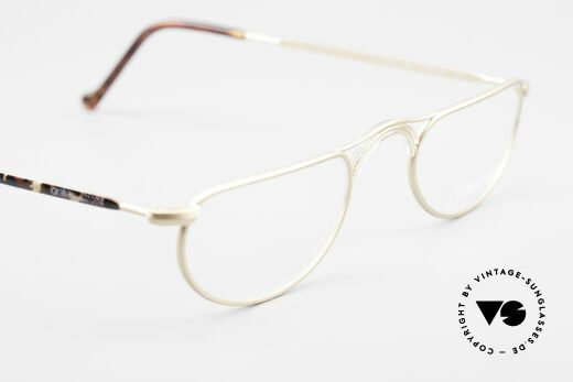 Giorgio Armani 133 Rare Old 80's Reading Glasses, correct mod. name: 133, col 744, size 48-22, 140, Made for Men and Women