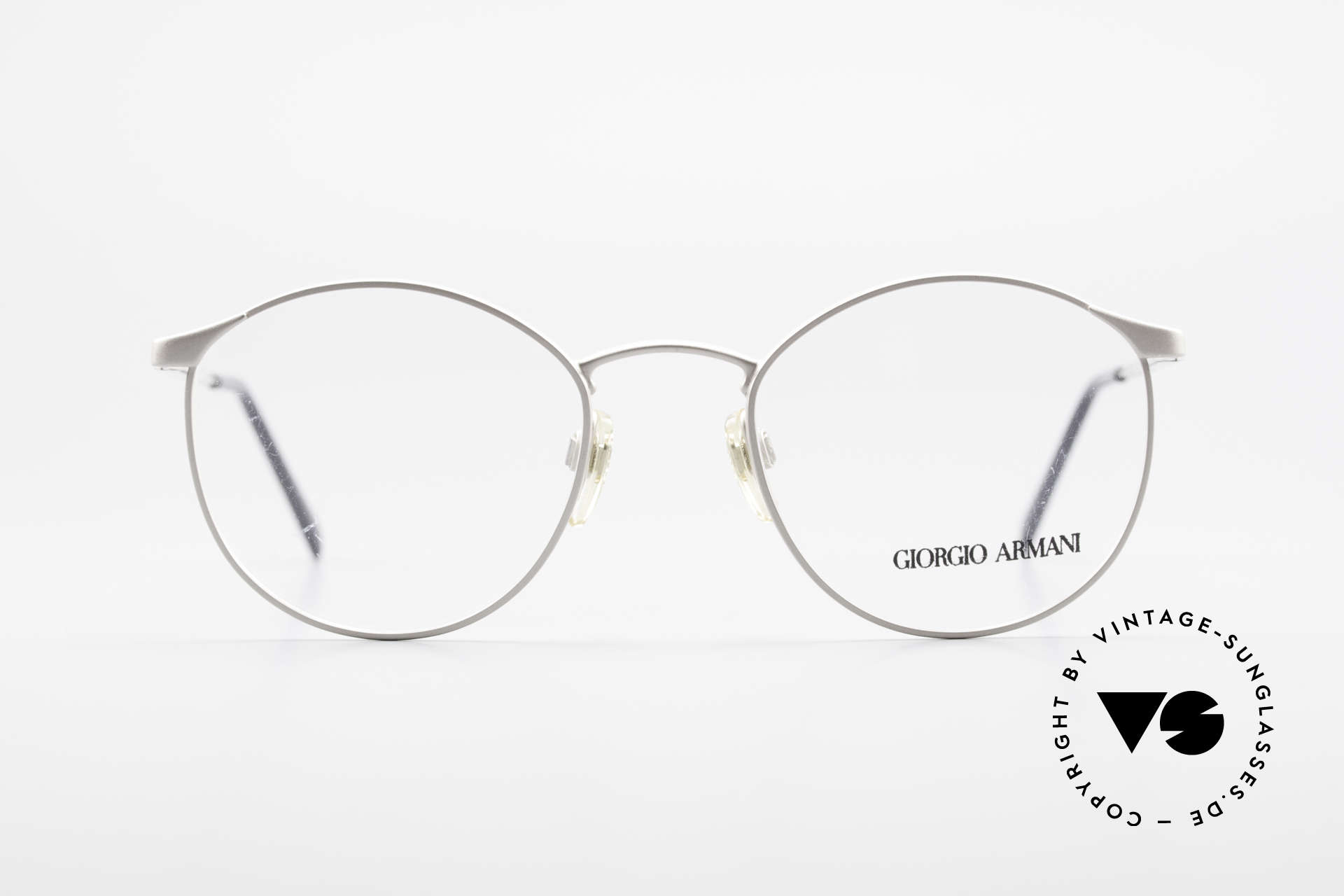 Giorgio Armani 163 Clip On 132 Panto Eyeglasses, Size: small, Made for Men