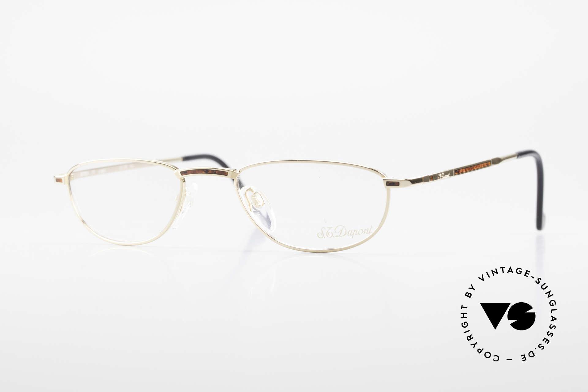 S.T. Dupont D051 Luxury Reading Eyeglasses 23KT, very exclusive S.T. DUPONT reading glasses, size 51°20, Made for Men