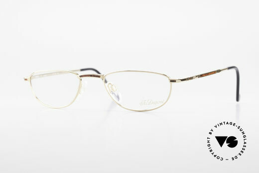 S.T. Dupont D051 Luxury Reading Eyeglasses 23KT Details