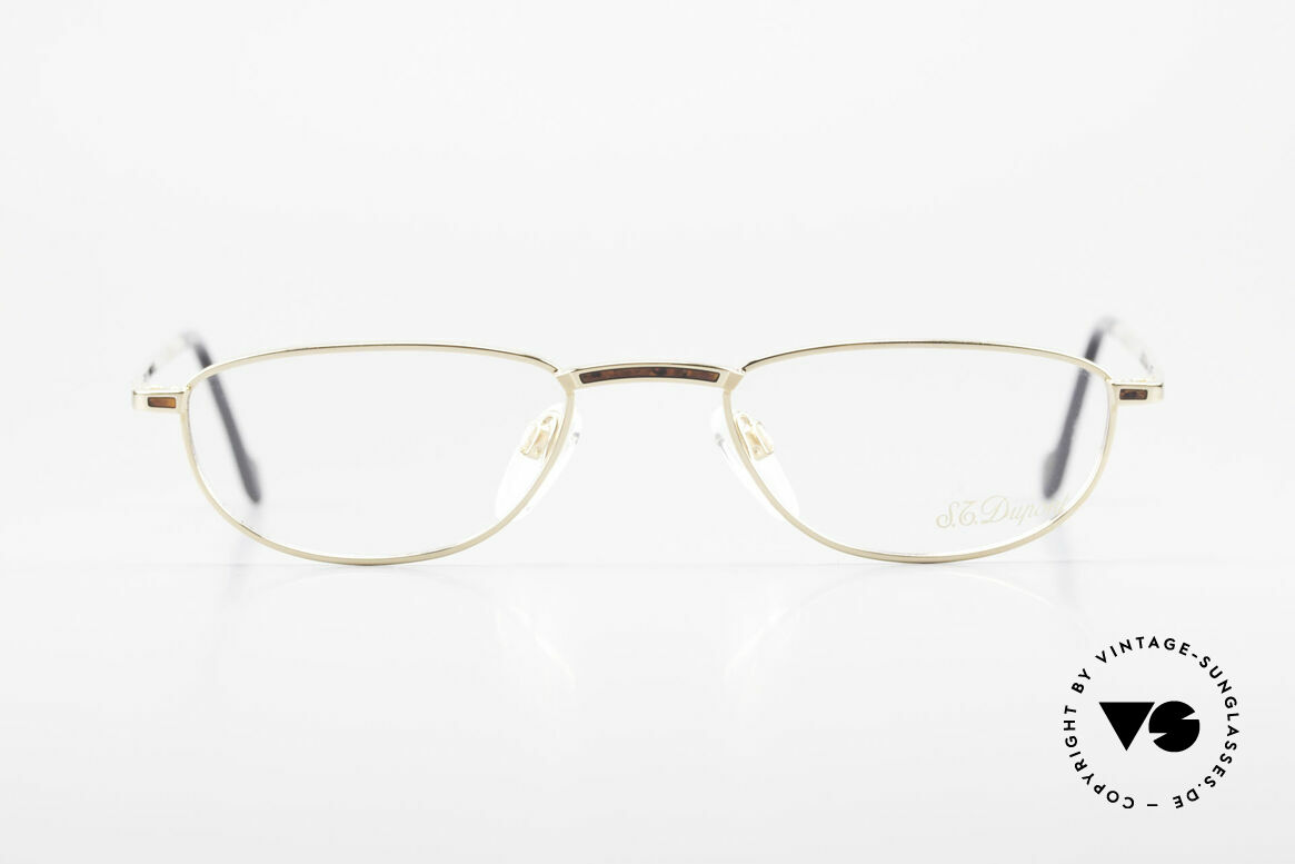 S.T. Dupont D051 Luxury Reading Eyeglasses 23KT, top craftsmanship (23kt gold-plated & root-wood inlay), Made for Men