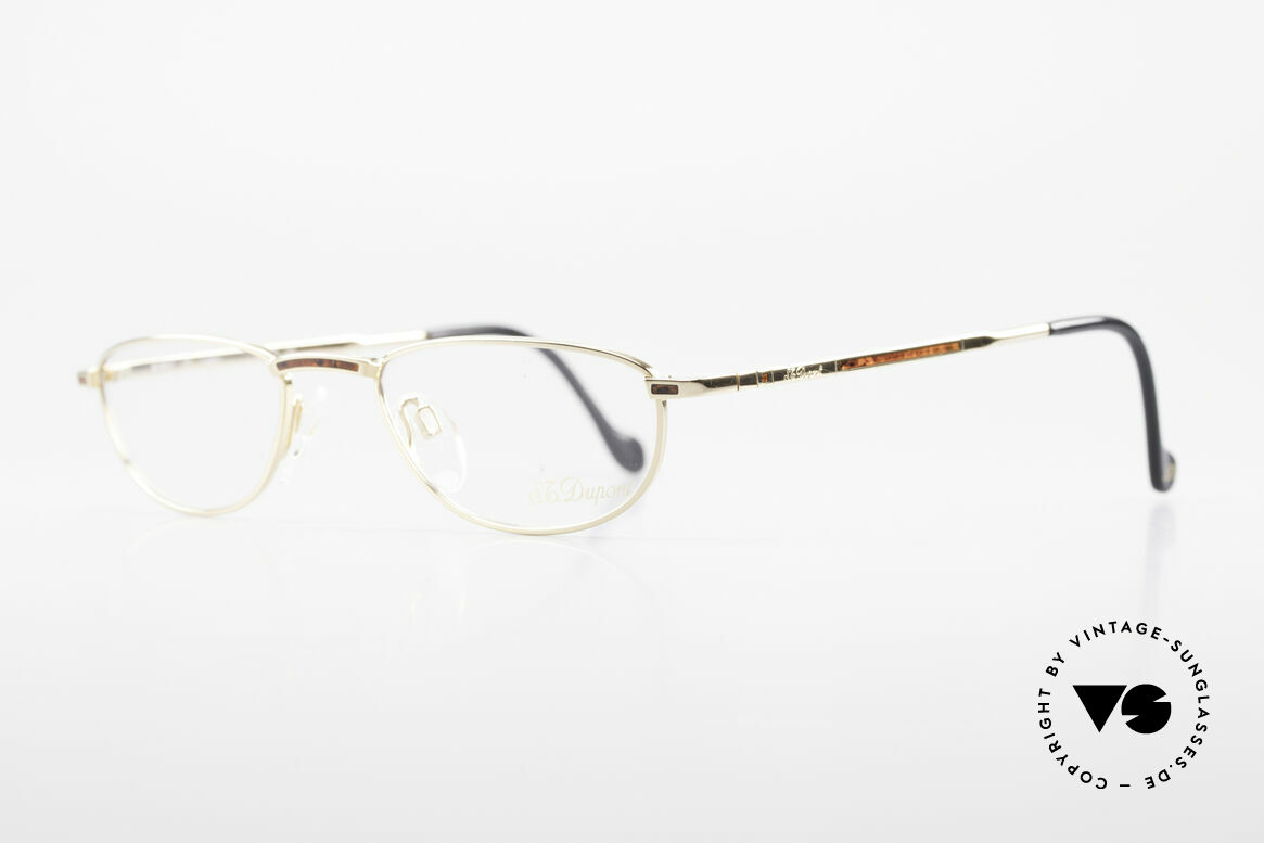 S.T. Dupont D051 Luxury Reading Eyeglasses 23KT, very noble & 1st class wearing comfort, U must feel it!, Made for Men