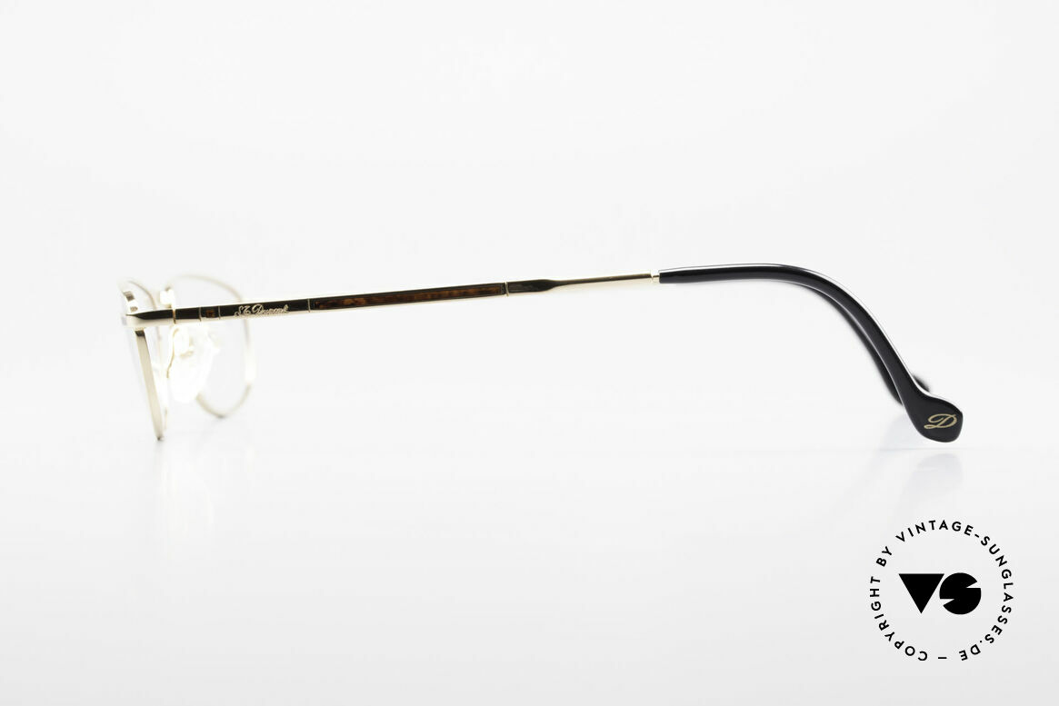 S.T. Dupont D051 Luxury Reading Eyeglasses 23KT, incl. original S.T. Dupont hard case, cloth and packing, Made for Men