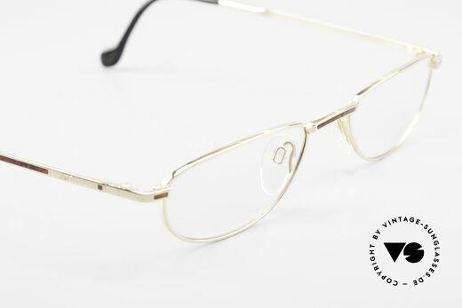 S.T. Dupont D051 Luxury Reading Eyeglasses 23KT, NO RETRO eyeglasses, but a precious 1990's ORIGINAL, Made for Men