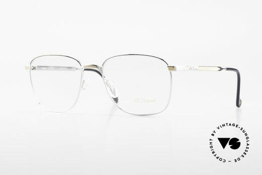 S.T. Dupont D048 Classic Luxury Eyeglasses 23kt Details