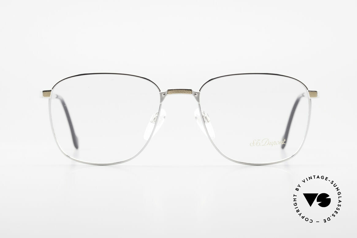 S.T. Dupont D048 Classic Luxury Eyeglasses 23kt, very exclusive S.T. DUPONT luxury frame  in size 56°18, Made for Men
