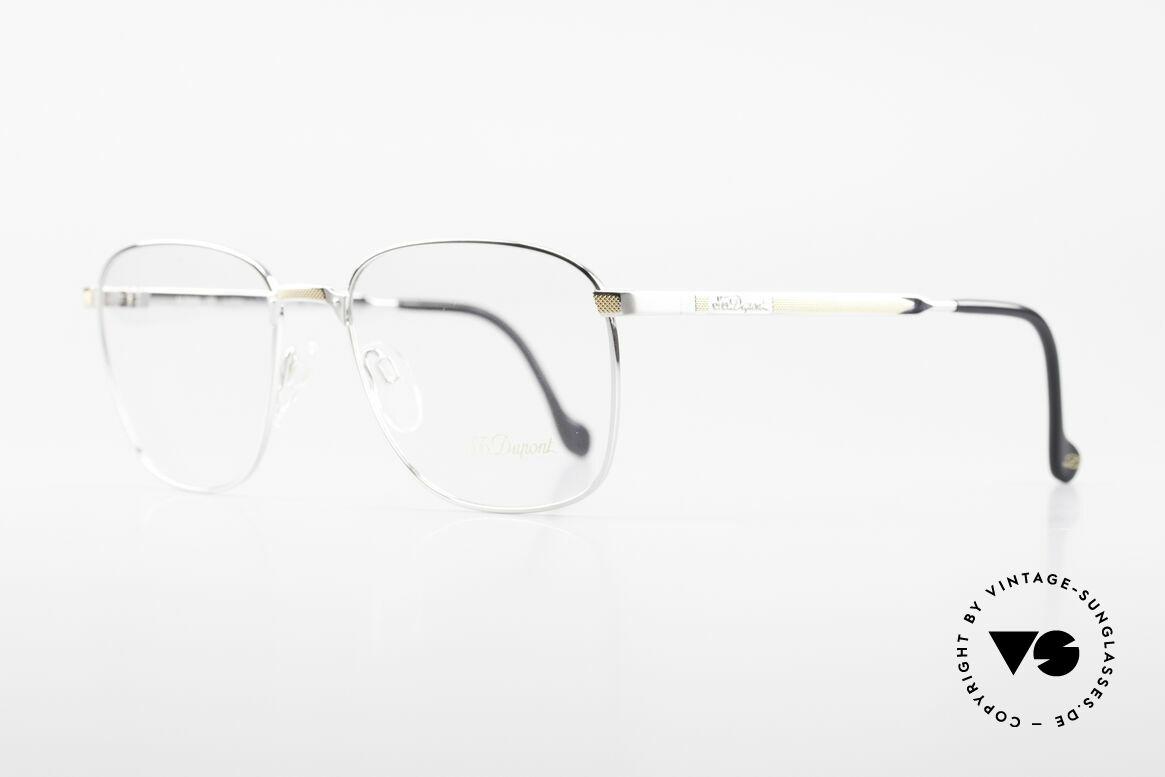 S.T. Dupont D048 Classic Luxury Eyeglasses 23kt, top craftsmanship (Dupont frames are 23kt gold-plated), Made for Men