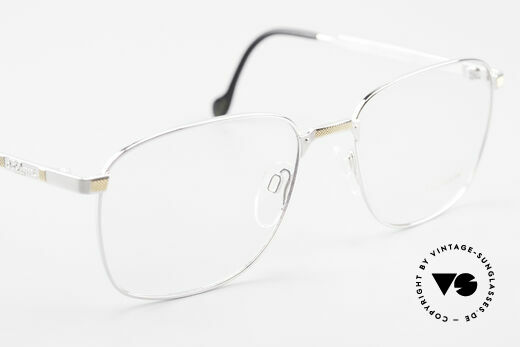 S.T. Dupont D048 Classic Luxury Eyeglasses 23kt, unworn (like all our rare vintage specs by S.T. Dupont), Made for Men
