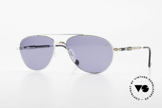 S.T. Dupont D069 Gold Plated Aviator Shades Details