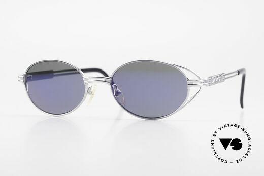 Jean Paul Gaultier 58-6106 Oval Designer Sunglasses Details