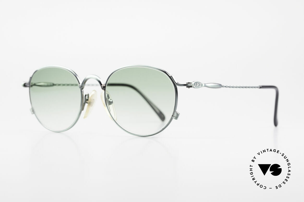 "Jean Paul Gaultier 55-2172 Rare Vintage JPG Sunglasses, ""smoke green"" frame finish in high-end quality, Made for Men and Women"