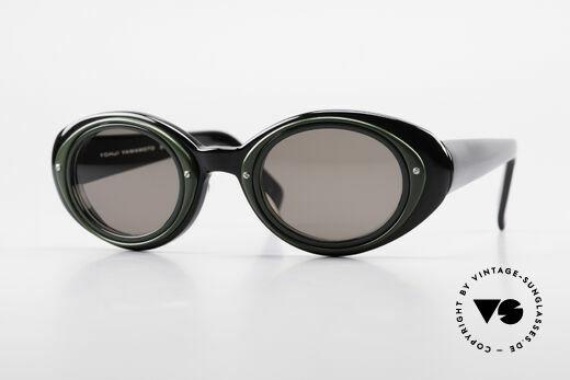 Yohji Yamamoto 52-7001 Kurt Cobrain Style Sunglasses Details