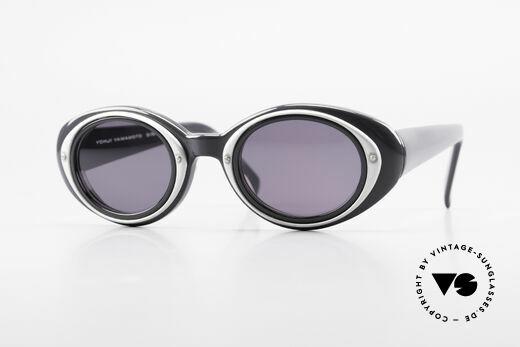 Yohji Yamamoto 52-7001 Sunglasses Kurt Cobrain Style Details