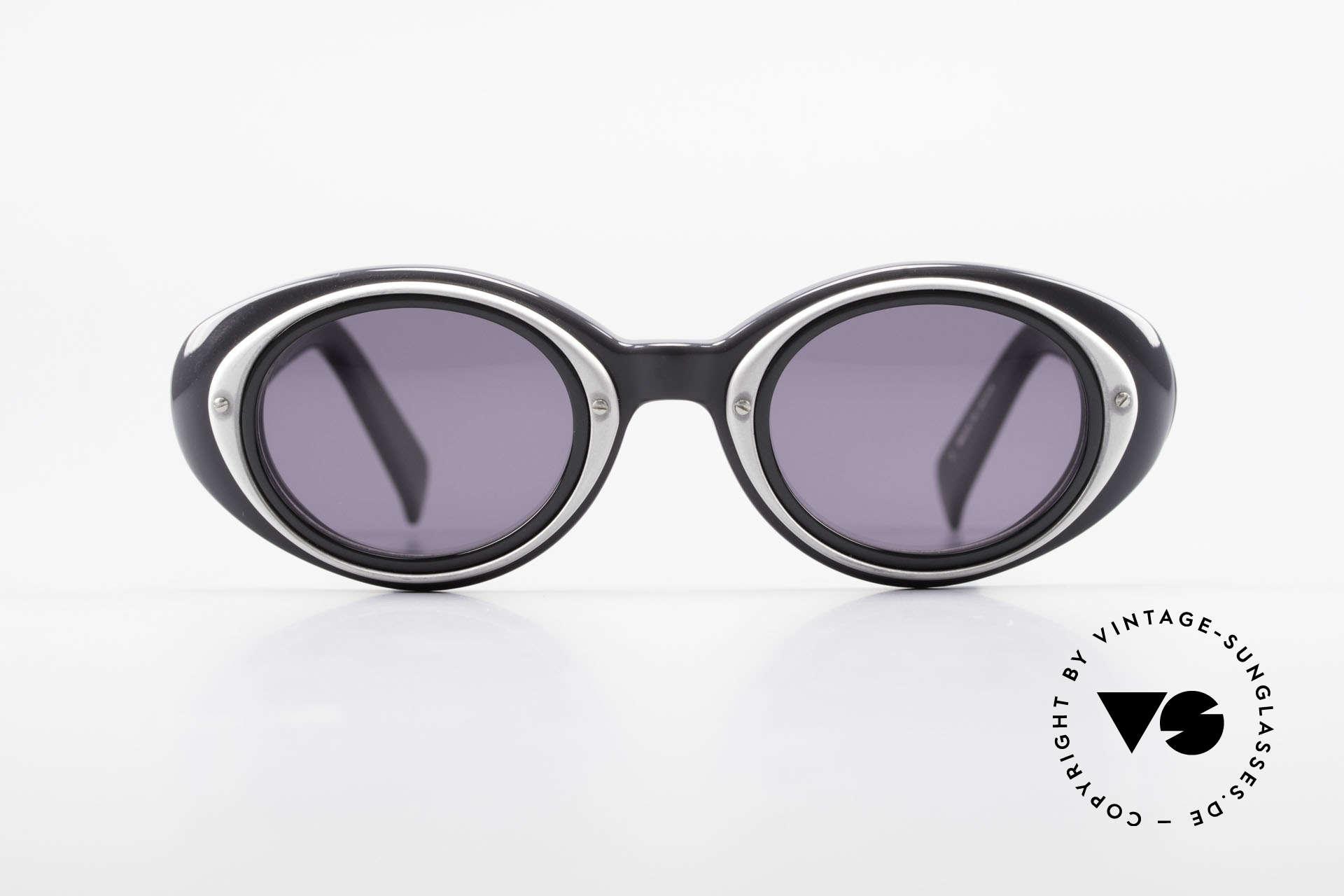 Yohji Yamamoto 52-7001 Sunglasses Kurt Cobrain Style, 1st class craftsmanship and materials (made in Japan), Made for Men and Women
