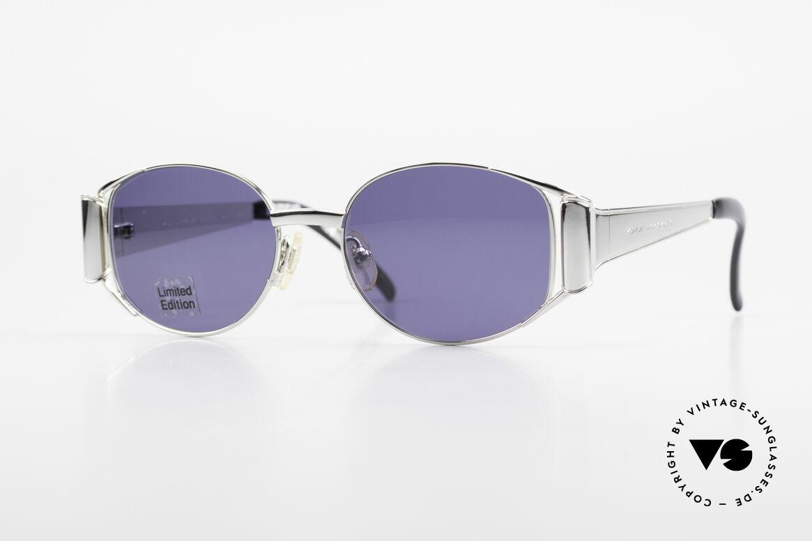 Yohji Yamamoto 52-5107 Limited Edition Sunglasses, unique vintage sunglasses by Yohji Yamamoto of the 90s, Made for Men and Women