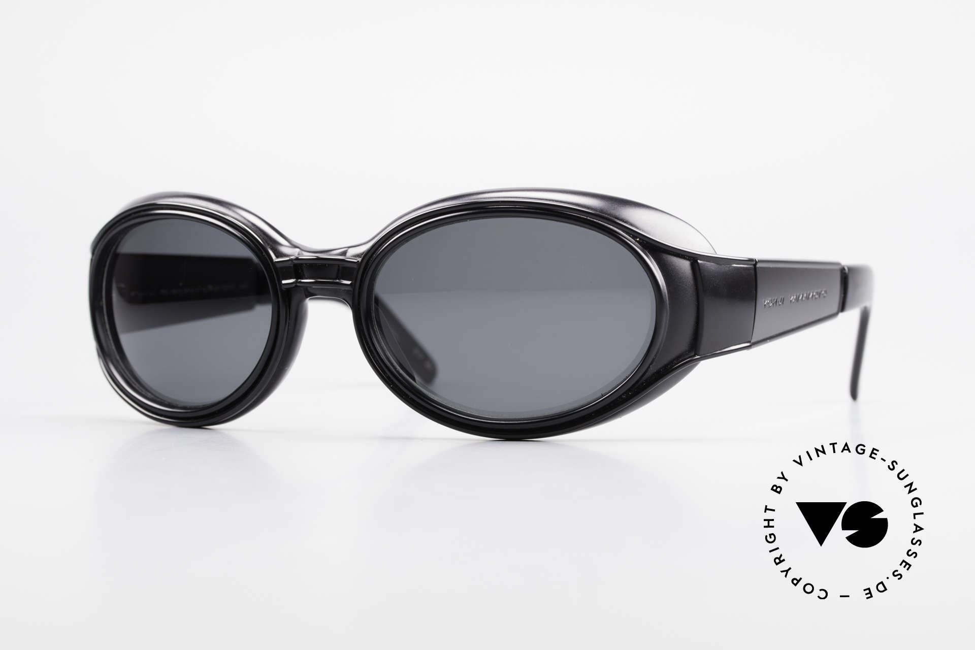 Yohji Yamamoto 52-6202 Sporty XL Designer Sunglasses, ultra RARE vintage Yohji Yamamoto shades of the 90's, Made for Men and Women