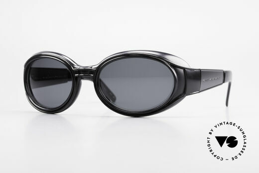Yohji Yamamoto 52-6202 Sporty XL Designer Sunglasses Details