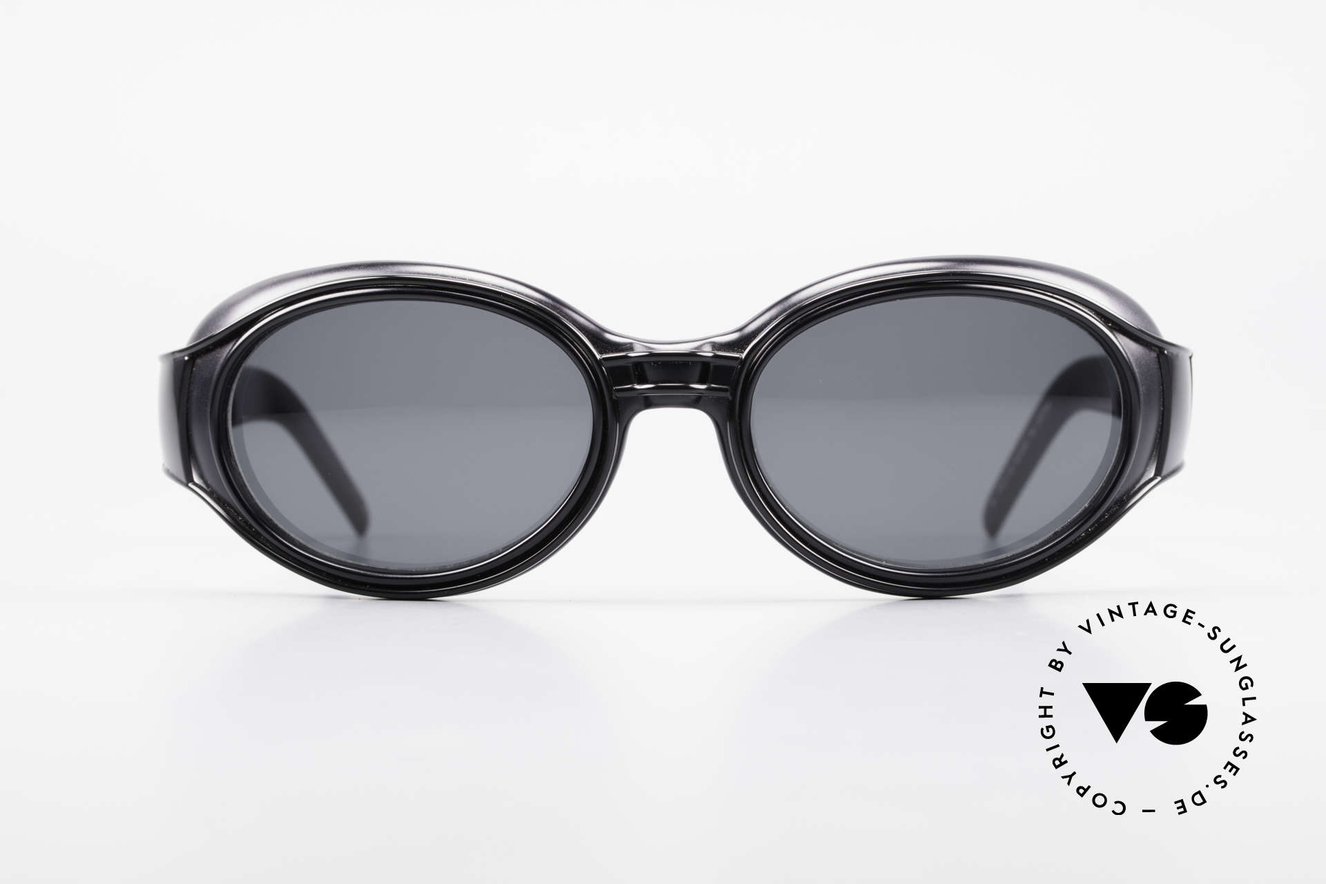 Yohji Yamamoto 52-6202 Sporty XL Designer Sunglasses, industrial frame construction; truly STEAMPUNK style, Made for Men and Women