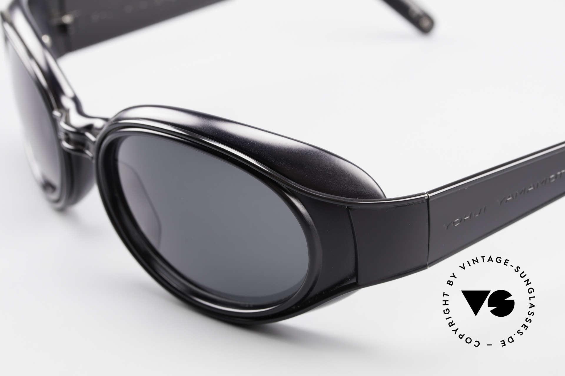 Yohji Yamamoto 52-6202 Sporty XL Designer Sunglasses, NO retro shades, but an old Yamamoto original from 1995, Made for Men and Women