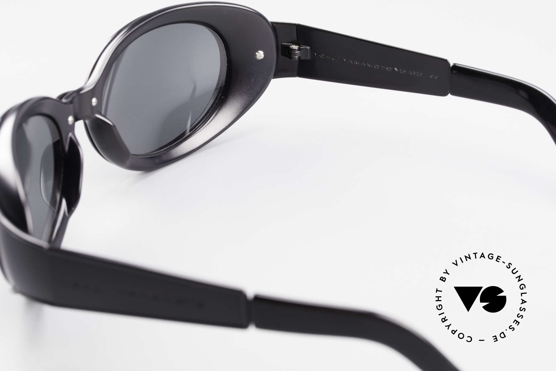 Yohji Yamamoto 52-6202 Sporty XL Designer Sunglasses, a true eye-catcher, made in Japan, X-LARGE size (149mm), Made for Men and Women