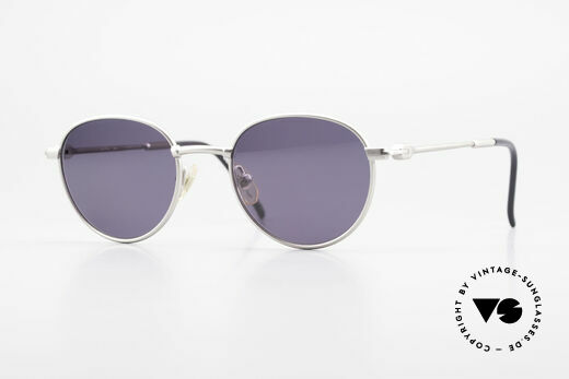 Yohji Yamamoto 52-4102 90's Panto Designer Sunglasses Details