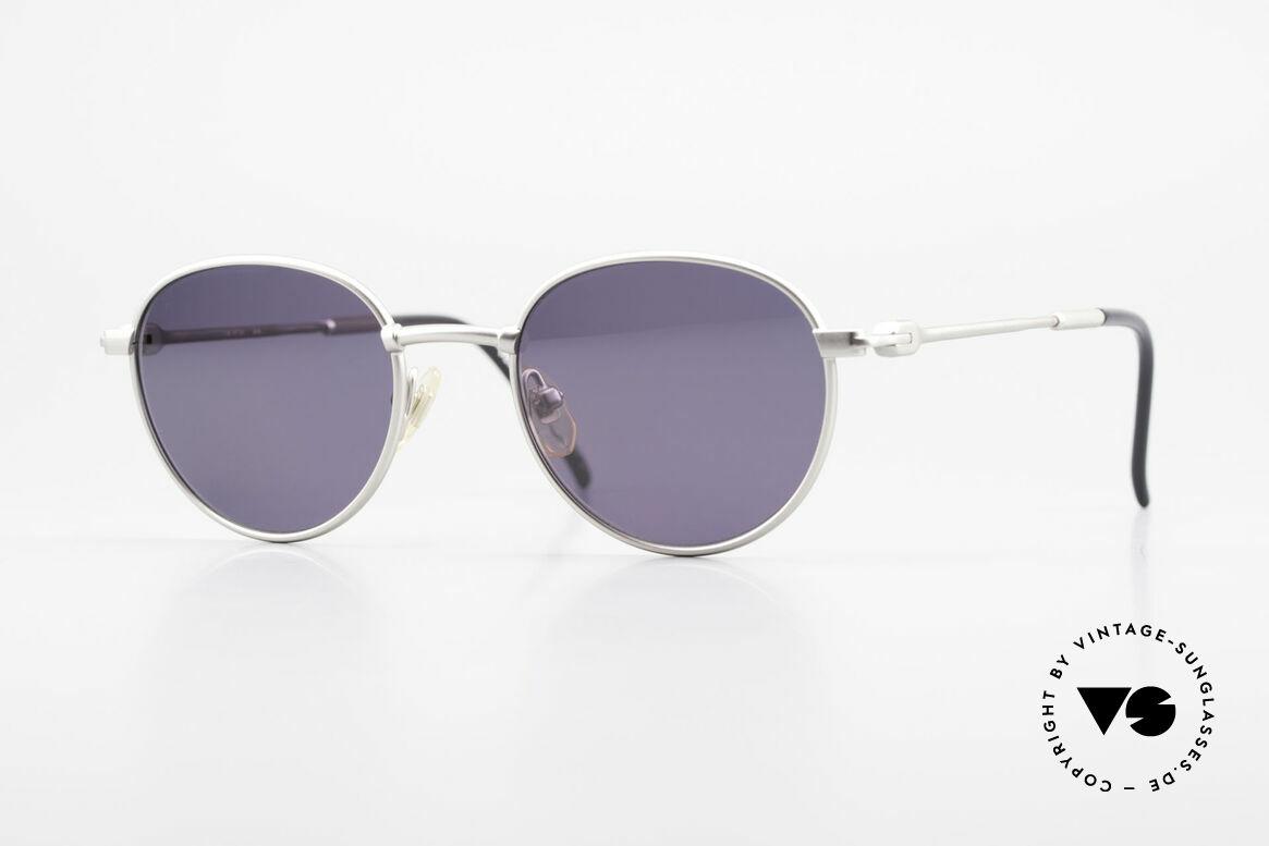 """Yohji Yamamoto 52-4102 90's Panto Designer Sunglasses, """"panto style"""" designer sunglasses by Yohji Yamamoto, Made for Men and Women"""
