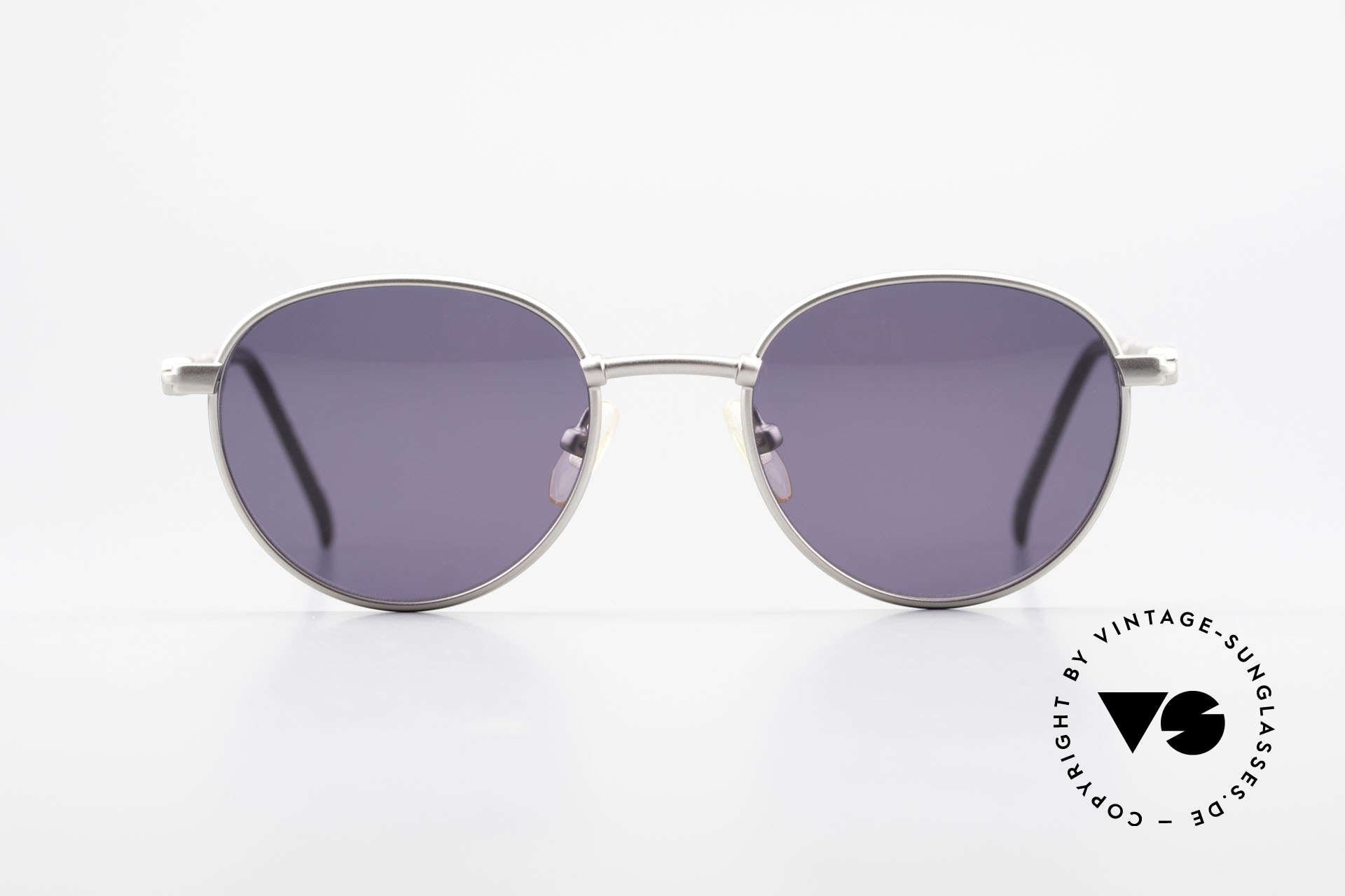 Yohji Yamamoto 52-4102 90's Panto Designer Sunglasses, rather a plain design by the Japanese fashion designer, Made for Men and Women